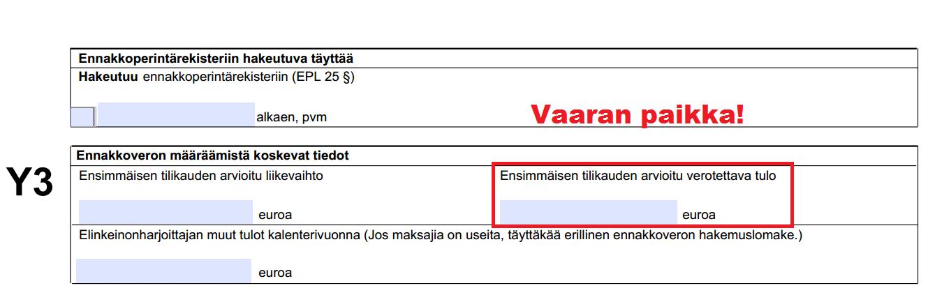 toiminimen perustaminen starttiraha Savonlinna
