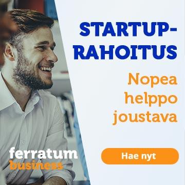 Ferratum tarjoaa rahoitusta uusille yrityksille