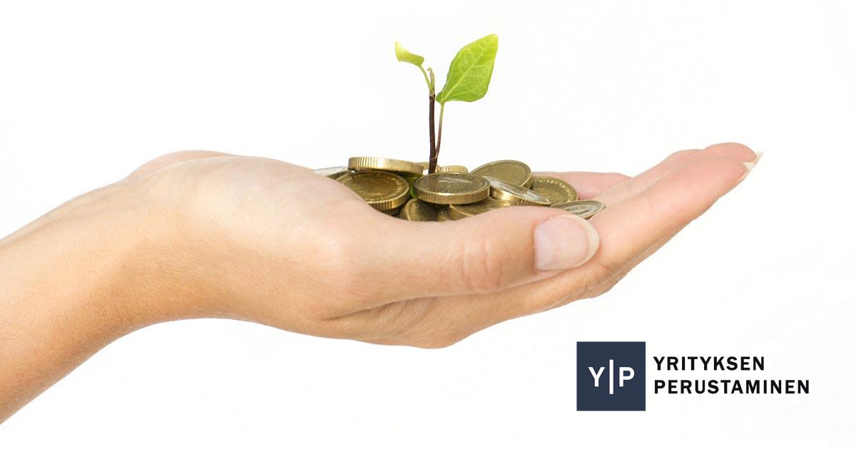 Aloittavan yrityksen rahoituksen järjestäminen.