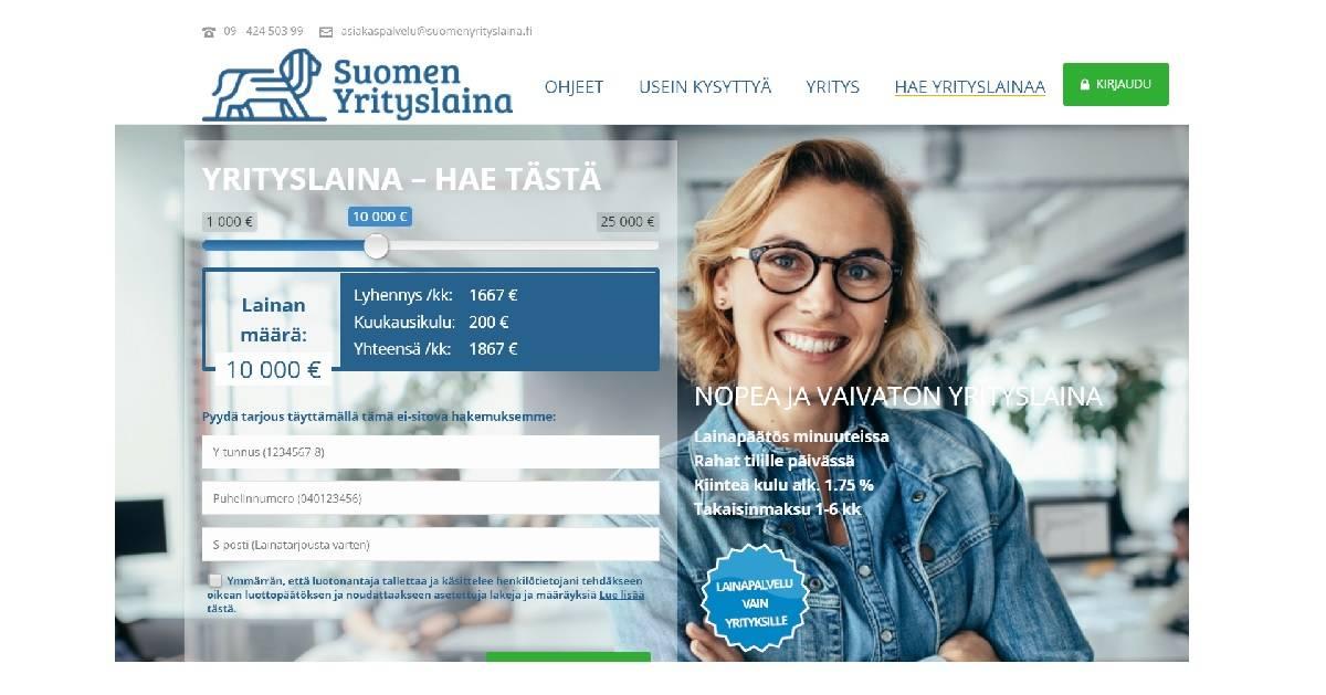 Millaisia kokemuksia yrittäjillä on Suomen Yrityslainasta?