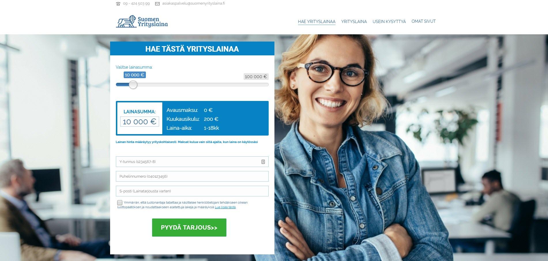 Esittelyssä Suomen Yrityslaina – tutustu lainan tietoihin ja hakemiseen
