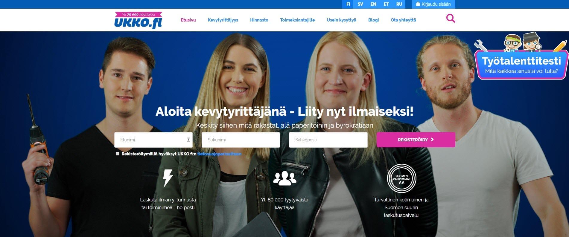 Kokemuksia Ukko.fi-palvelusta – kenelle se sopii?