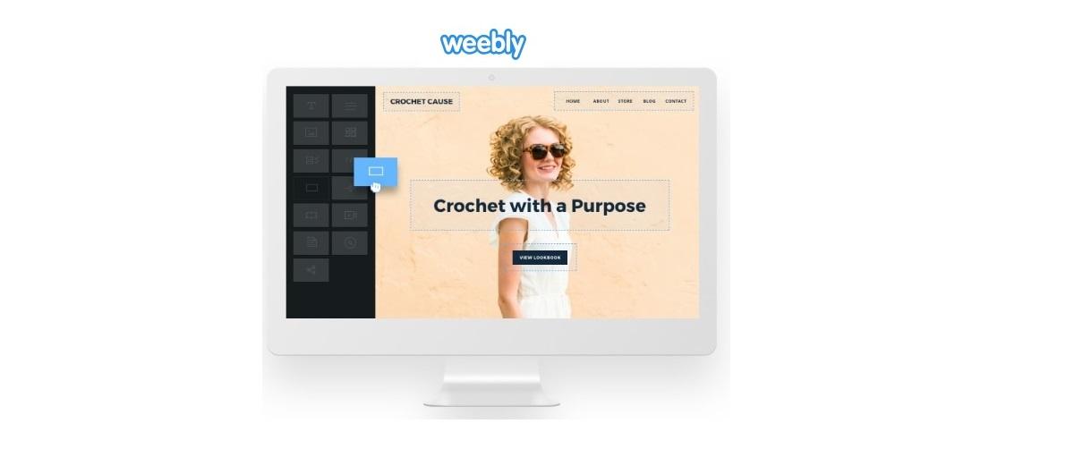 Weebly kotisivutyökalulla verkkosivut saa pystyyn nopeasti.
